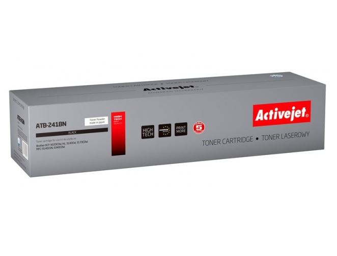 Toner Activejet ATB-241BN (do drukarki Brother  zamiennik TN241BK supreme 2500str. czarny)