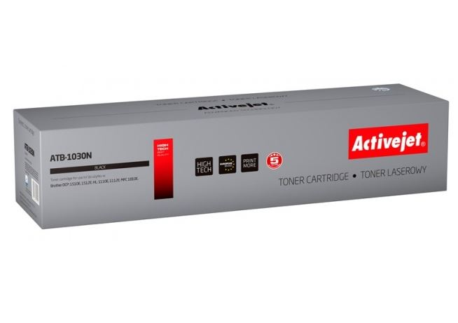 Toner Activejet ATB-1030N (do drukarki Brother  zamiennik TN1030/TN1050 supreme 1000str. czarny)