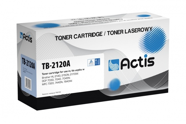 Toner Actis TB-2120A (Brother  TN2120) standard 2600str. czarny